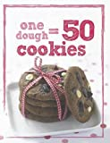 Parragon Book Service Ltd 1 Dough 50 Cookies
