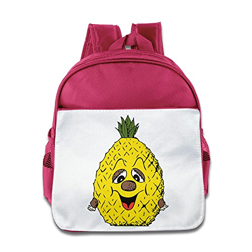 [TuSamLOO Cartoon Pineapple Kid's Mini Backpack/Travel Bag Pink] (Victorias Secret Costume Ideas)