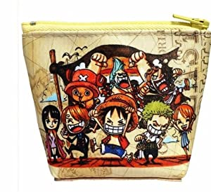 Topbill Fashion Chopper One Piece Luffy Coin Pocket Money Bag Wallet Purse of Cosplay