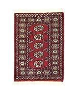 L'Eden del Tappeto Alfombra Kashmir L/Australia Rojo / Multicolor 61 x 84 cm