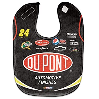 Amazon com nascar jeff gordon baby bib clothing