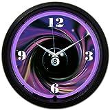 Neonetics 8 Ball Swirl Neon Clock