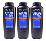Set of 3 Loreal Paris Vive Pro Men Shampoo Conditioner Cleanser Hair Body Wash 13 OZ