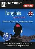 echange, troc Berlitz - Anglais (l'), prêt à partir - Méthode Musicale de Mémorisation - Mémorisez sans effort plus de 200 mots et expressions