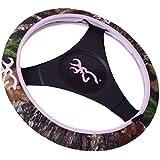 Browning Neoprene Steering Whe Browning - Pink/Breakup