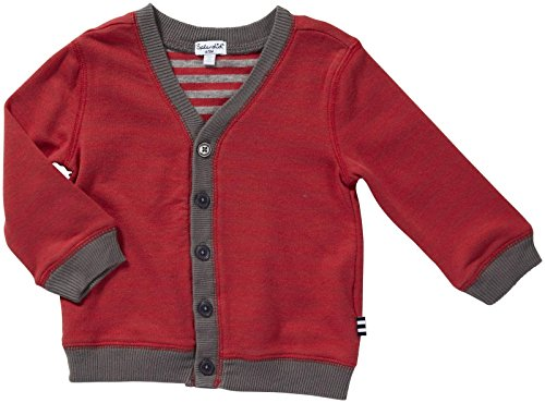 Splendid Baby Boys' Double Face Cardigan (Baby) - Red - 12-18 Months front-982564