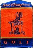 Walt Disney World Goofy Orange Blue Golf Towel