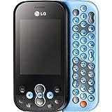 LG KS360 Etna Sim Free Mobile Phone - Blue