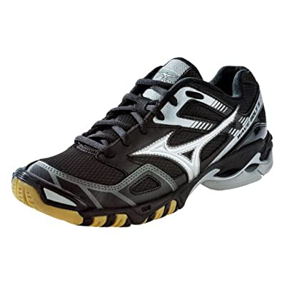 Buy Mizuno Ladies Wave Bolt 3 Volleyball Shoes - Black & Silver by BTS