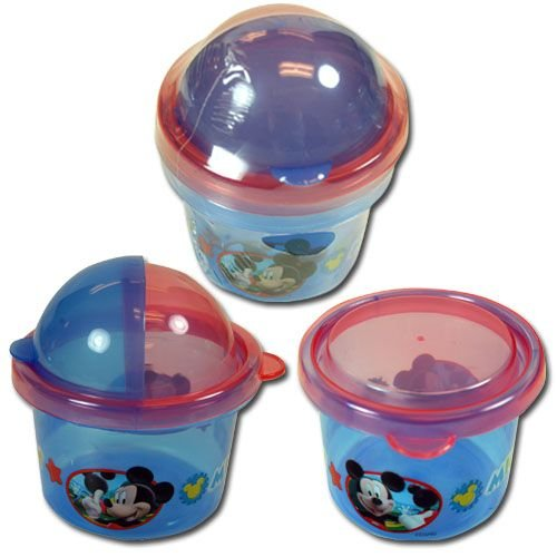Mickey Mouse 2pk Snack Storage Containers Zak Paks - 1