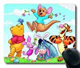 Winnie The Pooh Printed Photo Rectangle Mouse Pad, Mouse pad by vipcustomonline