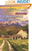 Home for Good (Love Inspired Large Print)