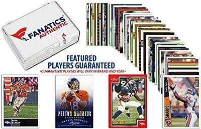 Denver Broncos Team Trading Card Block/50 Card Lot - Fanatics Authentic Certified - Football Team Sets