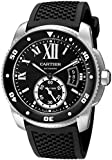 Cartier Men's W7100056 Analog Display Swiss Automatic Black Watch