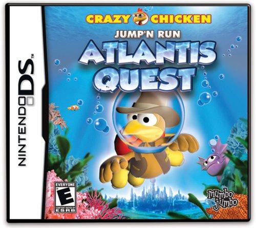 Crazy Chicken - Atlantis Quest - Nintendo DS - 1