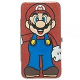 Super Mario Red Glitter Hinge Wallet