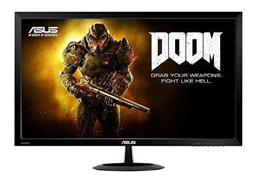 Asus VX278H 68,6 cm (27 Zoll) Monitor (VGA, HDMI, 1ms Reaktionszeit, 1.920 x 1.080 Pixel) schwarz thumbnail