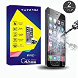 iPhone 6S Screen Protector, Yoyamo 2 PACK 0.26mm 9H Tempered Glass Screen Protector for Apple iPhone 6S /6 4.7 Inch (Lifetime Warranty)