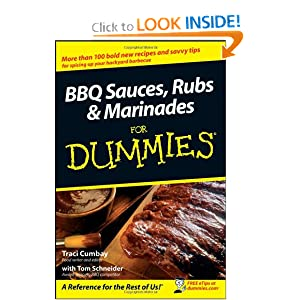 BBQ Sauces, Rubs and Marinades  - Traci Cumbay