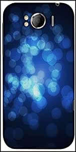 Snoogg Abstract Wallpapers Circle Designer Protective Back Case Cover For HTC Sensation Xl