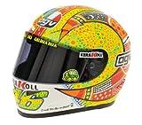 Valentino Rossi MotoGP 2007 Phillip Islandia 2007 casco Conductor 1: 2 Minichamps