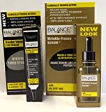 Balance Active Formula Wrinkle Freeze Serum 30ml & 15ml Cream Plus Snake Venom Eye Cream 15ml