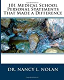 img - for 101 Medical School Personal Statements That Made a Difference book / textbook / text book