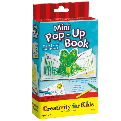 Creativity For Kids Mini Kit Mini Pop Up Book front-881452