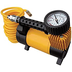 Q Industries MF1045 MasterFlow Rechargable Air Compressor