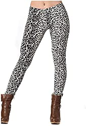 Leopard Animal Print Fashion Legging Pants Made in U.S.A