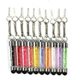 ZPS 10pcs New Fashion Crystal Diamond Stylus Pen for Iphone 3g/3s/4g/4s/5g & Ipad 1~3