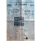 FIGARO (LE) [No 7990] du 25/05/1970 - pages speciales politiques , synthese et perspectives - proche-orient, la...