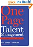 One Page Talent Management: Eliminati...