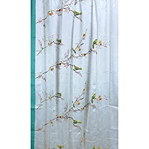 Lenox Simply Fine Chirp Shower Curtain, Multi-Color