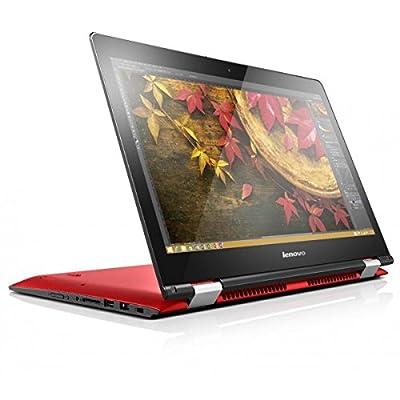 Lenovo Yoga 500 14-inch Touchscreen Laptop (Core i5-5200U/4GB/500GB/Win 8.1/Integrated Graphics), Red