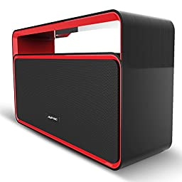 Apie Classic Sound Cannon Portable Wireless Bluetooth Stereo Speaker Powerful Sound with Enhanced Bass Surround BoomBox Subwoofer with FM Radio