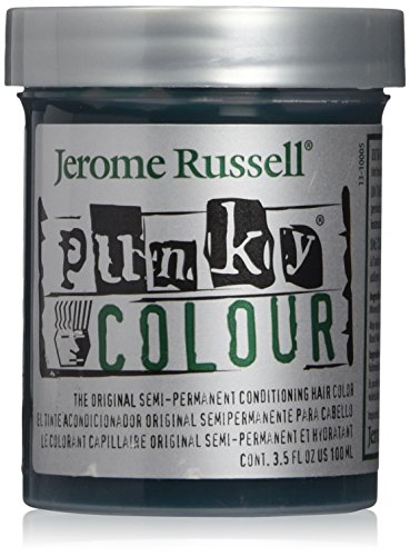 Jerome Russell PUNKY COLOUR, ALPINE GREEN, 3.5-Ounce Jars (Pack of 3) (Punky Hair Dye Alpine Green compare prices)