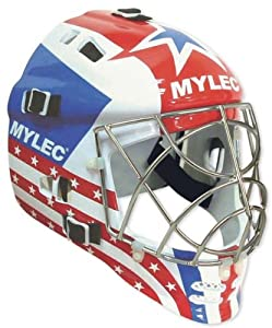 Ultra Pro Goalie Mask - Red White Blue - HO244P by Olympia Sport