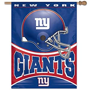 NFL New York Giants 27 37-Inch Vertical Flag by WinCraft