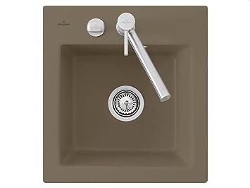 Villeroy & Boch Subway 45XS Timber Brown Ceramic Kitchen Sink Cushion