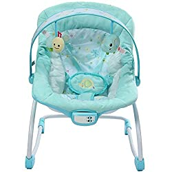 MASTELA NEWBORN TO TODDLER ROCKER - 6906 (BLUE)