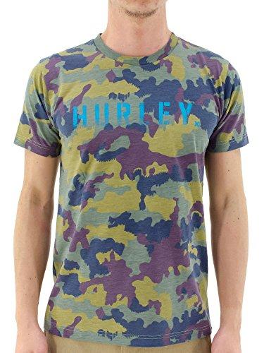 (ハーレー) HURLEY クルーネックTシャツ MTSP20600 半袖Tシャツ メンズ XL CAMO