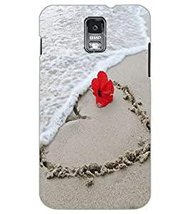 SAMSUNG GALAXY S5 SAND Back Cover by PRINTSWAG