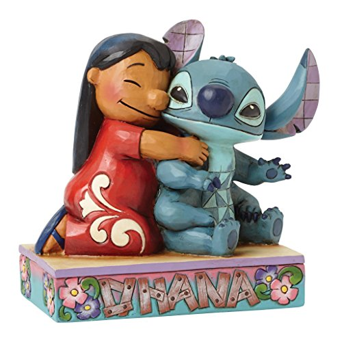 Enesco Disney Traditions by Jim Shore Lilo and Stitch Figurine, 4.875 IN