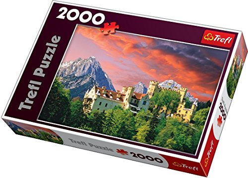 Puzzle 2000 Teile – Schloss Hohenschwangau –