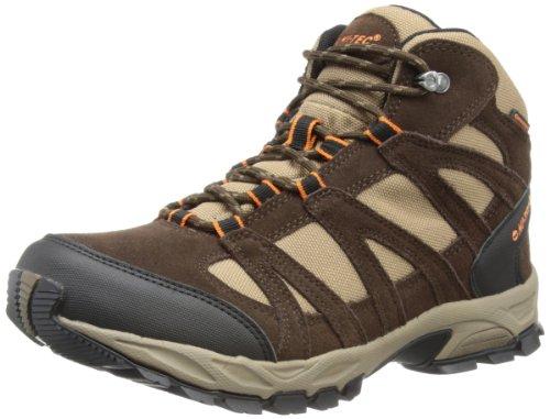 Hi-Tec - Scarponcini da escursionismo e camminata, Uomo, Marrone (Braun (Dark Chocolate/Taupe/Orange)), 46 (12 uk)