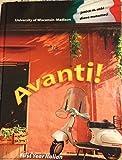 img - for Avanti! Custom Edition University of Wisconsin book / textbook / text book