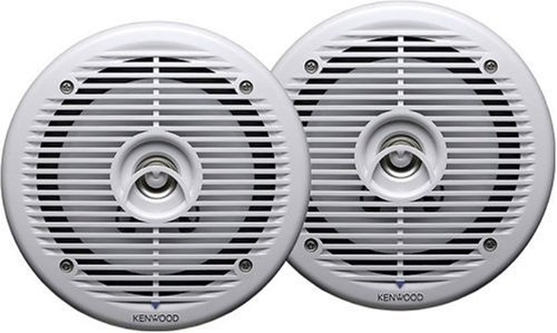 "Kenwood Kfc-1652Mrw 6.5"" Marine Speakers (White)"