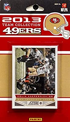 Panini 2013 Score NFL Team Set - San Francisco 49ers