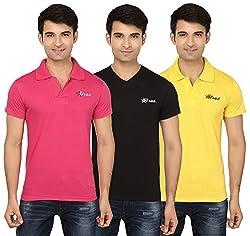 Strak Cotton Men's Casual T-Shirt (STR2002_L)